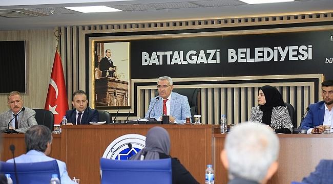 Battalgazi'de  Stratejik Plan Onaylandı