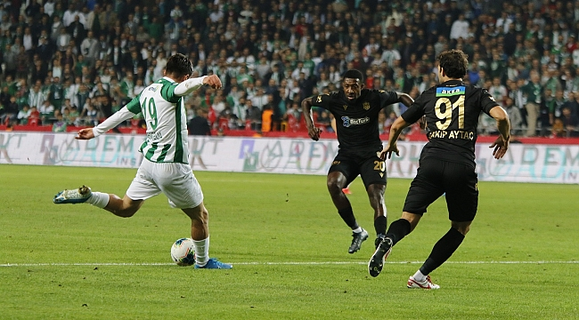 İ.H Konyaspor: 0 - BtcTurk Yeni Malatyaspor: 2