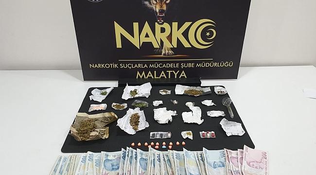 Malatya Merkezli Uyuşturucu Operasyonuna 8 Gözaltı