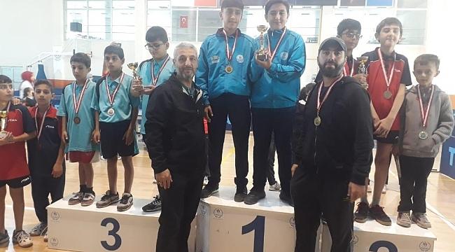 Mercan Spor Kulübü, Masa Tenisinde Bölge Şampiyonu Oldu