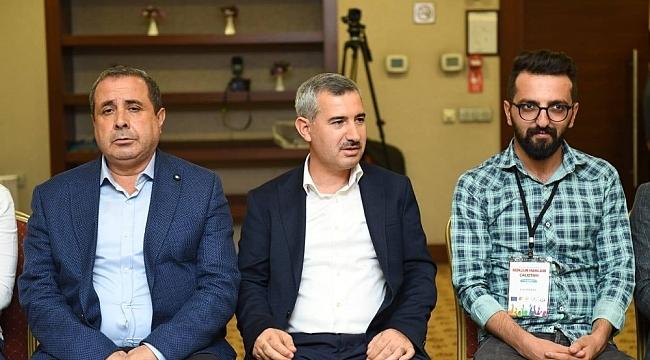 Yeşilyurt Belediye Başkanı Mehmet Çınar, gençlere hitap etti