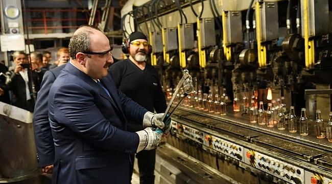 Bakan Varank, OSB Bulunan Fabrikalarda İnceleme Yaptı