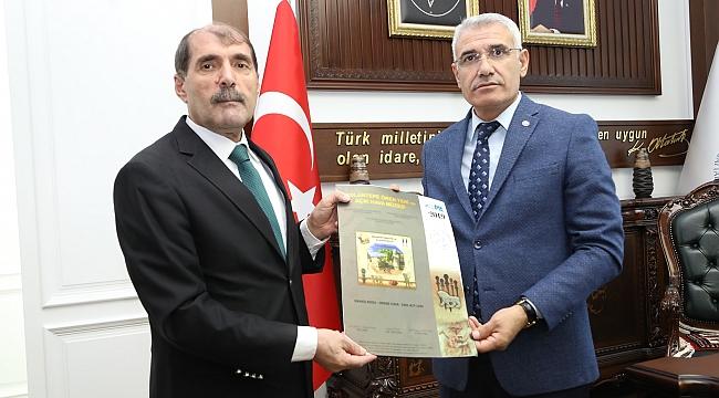 Başkan Güder, Arslantepe Pulları 193 Ülkede Tedavülde