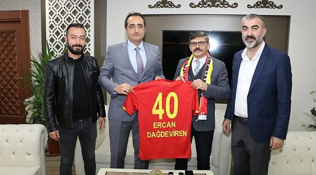 BtcTurk YMS'den Ercan Dağdeviren'e Ziyaret