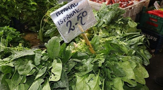 Ispanak Satışları Malatya'da da Düştü