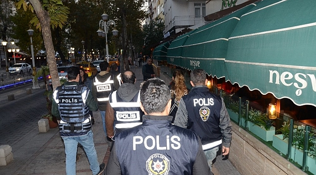 Malatya Emniyetinden 788 Polisle Dev Uygulama