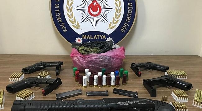 Malatya'da 9 Adrese Operasyon: 6 Şüpheli Yakalandı