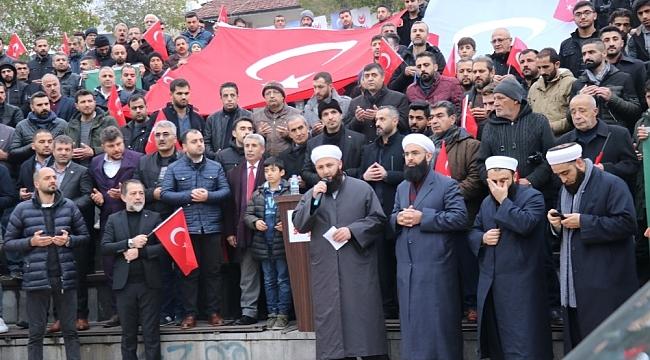 Malatya'da Doğu Türkistan'daki Zulüm Protesto Edildi