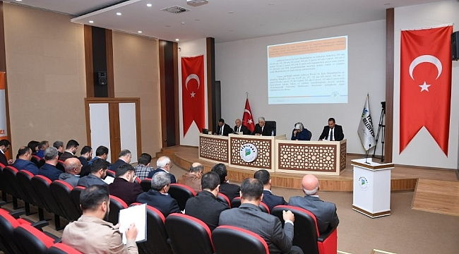 Yeşilyurt Meclisi, Aralık Ayı toplantılarına başladı