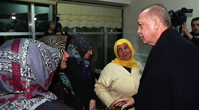 Cumhurbaşkanı Erdoğan, Doğanyol'da