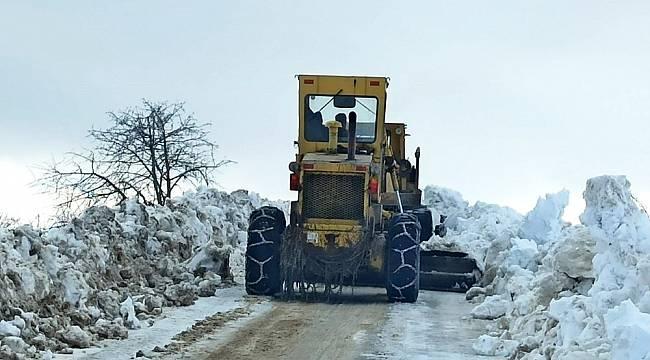 Kar Nedeniyle Kapanan 59 Mahalle Yolu Ulaşıma Açıldı