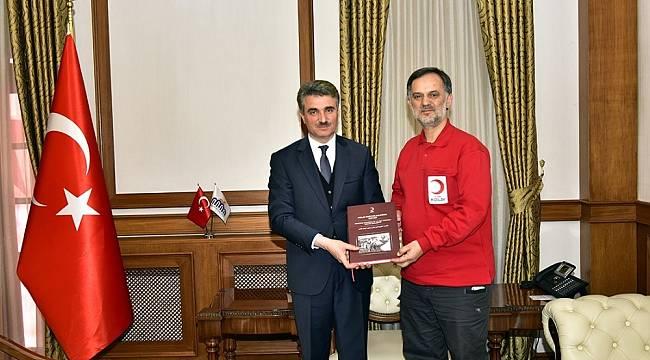 Kızılay Genel Müdürü Altan, Malatya'da