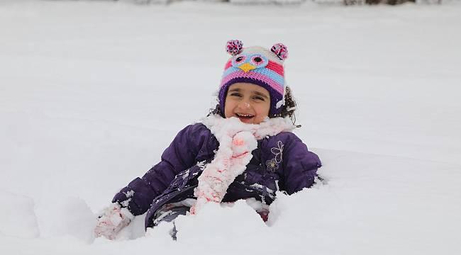 Malatya'da Kar Çocukları Sevindirdi, Sürücüleri üzdü