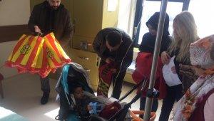 Taraftarlar Derneği Karaciğer Nakli Bekleyen Çocukları Ziyaret Etti