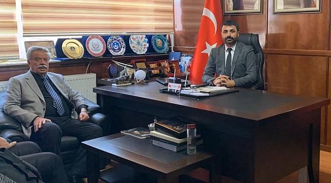 Başkan Küçük'ten, MHP İl Başkanı Samanlı'ya Hayırlı Olsun Ziyaret