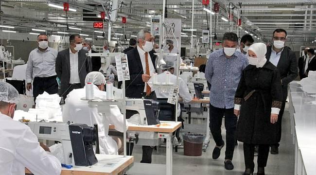 Çalık; Malatya'mız Maske Üretiminde Önde Gelen Merkezlerden Biri Oldu