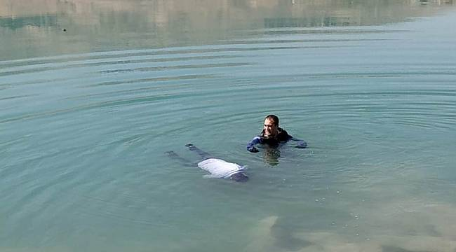 Orduzu Pınarbaşı Göleti'nde Erkek Cesedi Bulundu