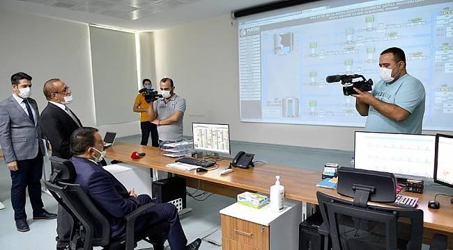 Başkan Gürkan; Teknolojiyi en iyi şekilde kullanıyoruz
