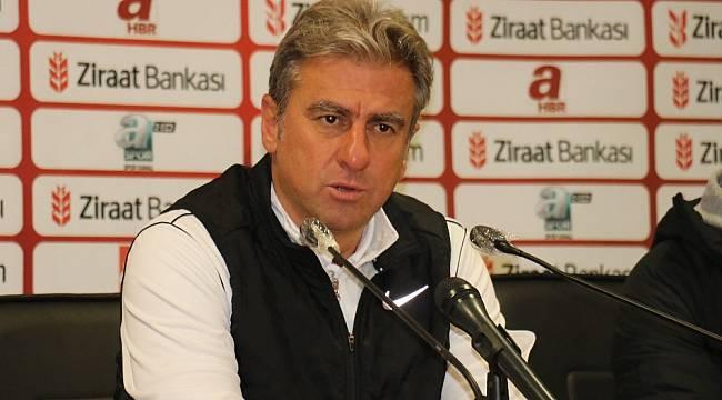 """Hamzaoğlu: """"Futbolda bazen kazandık derken, kaybedebiliyorsunuz"""""""