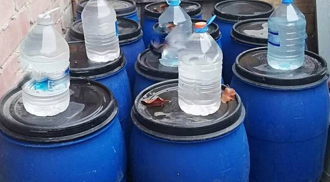 Sahte alkol imalathanesine baskın