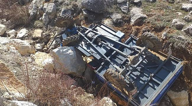 Çapa Motoru Devrildi: 1 Yaralı