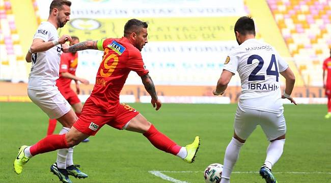 H. Yeni Malatyaspor:2 - MKE Ankaragücü: 1