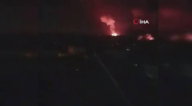 İşgalci İsrail Askeri'nin, Gazze'ye saldırısı sürüyor!
