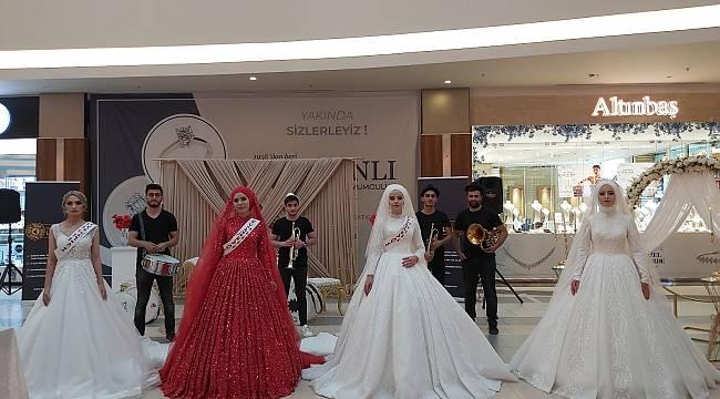 1. Geleneksel Düğün Karnavalı düzenlendi