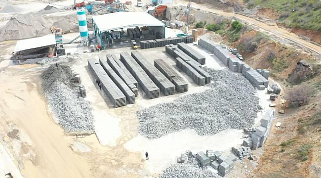 Pütürge'de kilit taşı üretim tesisi açıldı