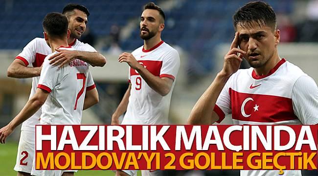 Türkiye, hazırlık maçında Moldova'yı 2 golle geçti