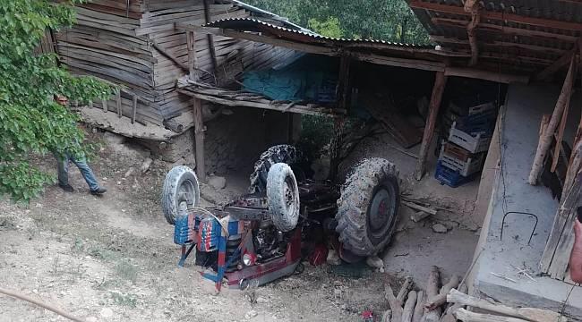 Yazıhan'da Traktör Kazası: 1 Yaralı