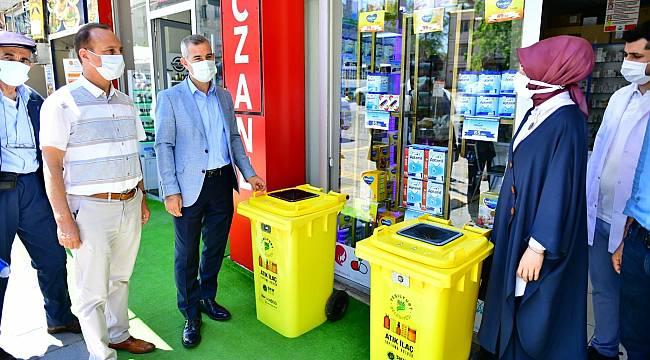 Yeşilyurt'ta atık ilaçlar çöpe gitmeyecek