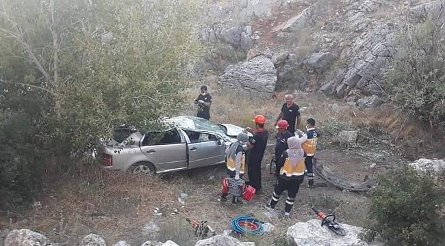 Malatya'da feci kaza: 1 polis öldü, 1 polis yaralandı