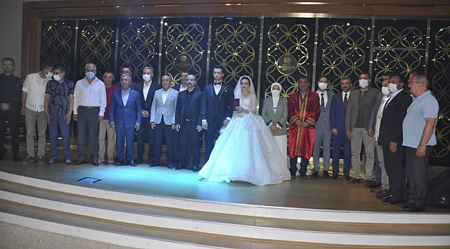 Avşar'ın Düğün merasimi görkemli geçti