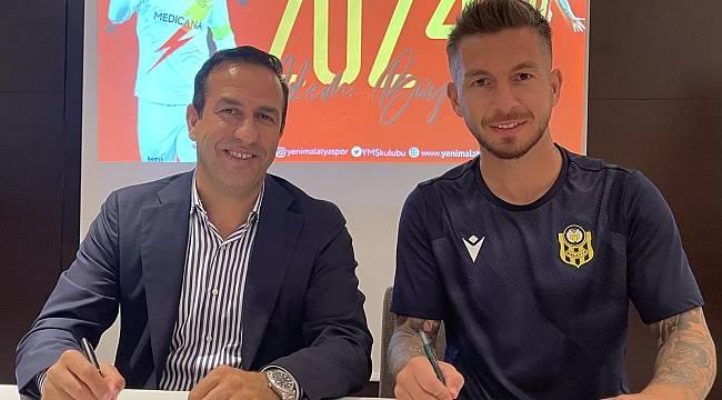 Yeni Malatyaspor Adem Büyük ile sözleşme uzattı
