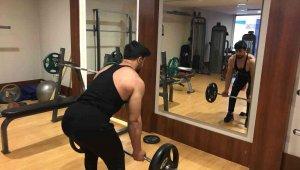 Çapanoğlu, Vücut Geliştirme Şampiyonasına iddialı hazırlanıyor