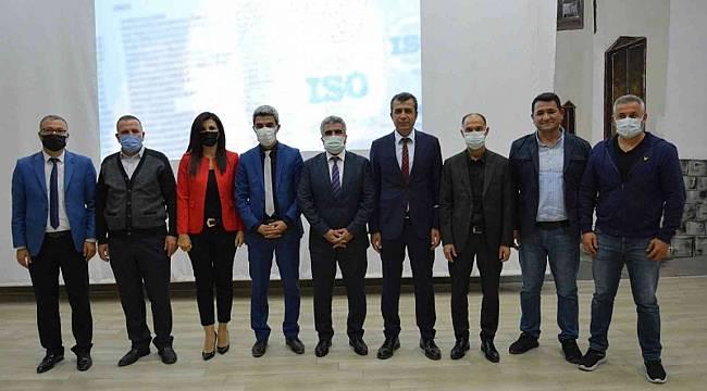 Malatya'da 24 okula ISO standardı belgesi